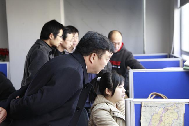 淮北矿业到上海钢联调研